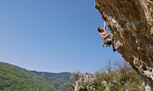 Rock climbing, extreme sports