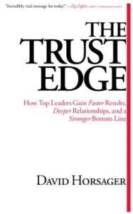 The Trust Edge - Book Cover